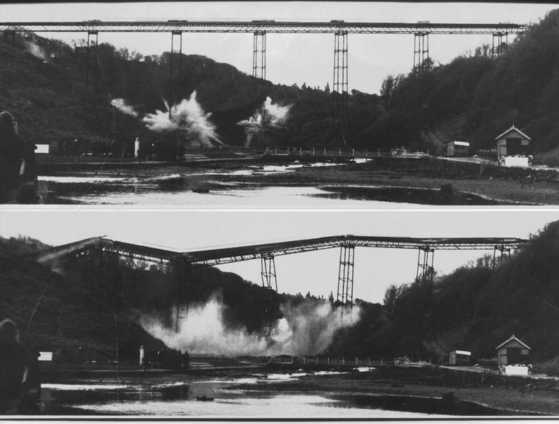 Demolition of Penny Bridge